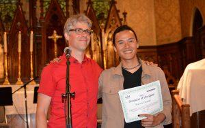 student of the year toronto guitar school 2018
