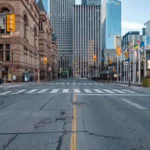 empty toronto street